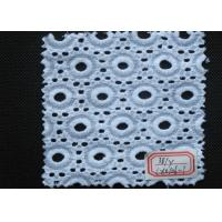 China Cotton Eyelet Lace Trim Elastic  wholesale