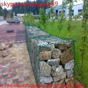 Buy cheap Galvanzied Welded Gabion / Wire Mesh Basket / Welded Gabion Mesh/hot dipped galvanized hexagonal wire mesh 2x1x1m gabion from wholesalers