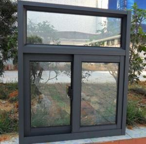 Latest Design Aluminum Extrusion Profiles For Double Glazing Aluminum Sliding Window