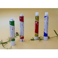 Wholesale Round Aluminum Collapsible Tubes ,  Recyclable Toothpaste Tube Packaging from china suppliers