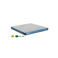 China Low profile electronic platforms with removable chequered loading plate wholesale