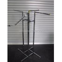 China Boutique Clothing Store Fixtures 4 - Way Hanging Clothing Display Racks For Garment wholesale