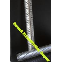 China  Gas / Liquid Diffusion Perforated Metal Tube / Perforated Exhaust Pipe  for sale