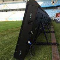 China Sports Perimeter Led Display Advertising Boards P8/10/16 5500-8000 Nits With Fast Joint Design wholesale