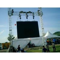 Quality Customer Design  4 Pillars True Project Stage Lighting Truss 6x6 x 6 M Fixed Height Roofing with High Loading for sale