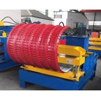 China PLC Control Roof Pipe Bending Machine Hydraulic With Adjustable Speed wholesale