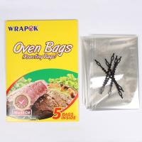 China High Temperature Resistant Plastic Oven Bags For Cooking , Oven Bag Chicken Use wholesale