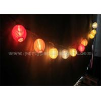 Fairy Paper Lantern String Lights Solid Colors Lanterns For Party , Wedding Decorating of item ...