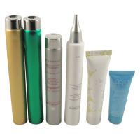 China LDPE / MDPE / HDPE / COEX Plastic Cosmetic Packaging Tube , Round 200ml / 6.66oz Cosmetic Squeeze Tubes wholesale