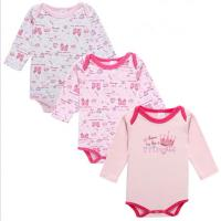 China Spring Autumn Cute Newborn Baby Clothes Cotton Long Sleeve Baby Romper wholesale