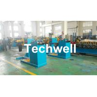 China Rotary Double Head Mandrel Manual Uncoiler / Decoiler With Weight Capacity Of 3 / 5 Ton wholesale