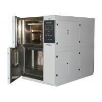 China LCD Touch Controller Thermal Shock Test Chamber , Two case Basket Type Cabinet wholesale