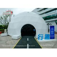 China 14m Diameter Geodesic Dome Tents for Outdoor Movies And Exhibition wholesale