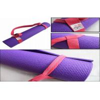 China 12cm Durable Colourful 6 Feet Yoga Mat Strap For Exercise Equipment wholesale