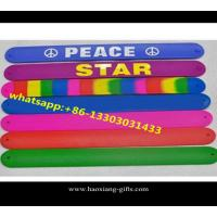 China CMYK Silicone Slap Band Wide Slap Bracelet & Silicone slap wristband Wholesale wholesale