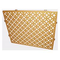 Wholesale Light Weight Perforated Aluminum Panels Wall Cladding Decorative Aluminum Sheet from china suppliers