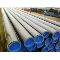 China PSL1 / PSL2 Hot Finish Seamless Line API Steel Pipe With Painting End Caps wholesale
