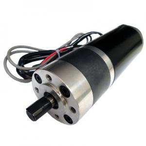 China Phosphor bronze gear Door opener motor encoder 24VDC 65W with planetary Motor wholesale