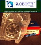 China Swden SKF 1202ETN9 Spherical Ball Bearing , Self-aligning Bearings wholesale