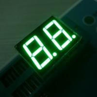Green Two Digit Seven Segment Display Common Anode For Intrument Panel