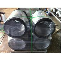 China 457*219 Hot pressed carbon steel tee pipe fitting packed on pallet wholesale