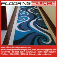 China Vinyl Printed Coil Floor Mat with anti slip backing or without backing to dry quickly and resist mildew wholesale