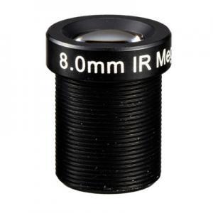 "1/3"" 8mm F1.8 Megapixel 1080P M12 Mount Fixed Focal Lens, 8mm security camera lens"