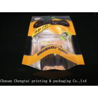 China Multi Colors Glossy Printed 68g Dried Fruit Bags For Banana Chips / Peanuts on sale