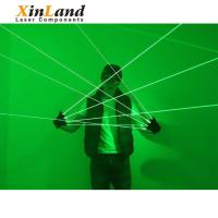 China 2018 the Cheapest long distance bar cool green laser lighting gloves on sale