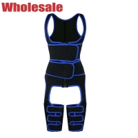 China 7XL Full Body Thigh Shaper Sweat Thigh Trimmer For Legs And Thighs wholesale