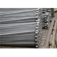 China Stainless Steel Mesh Conveyor Belt , Horseshoe Wire Mesh Heat Resistance wholesale