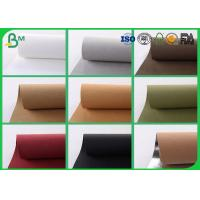 China Colorful Washable Kraft Paper Fabric , 150CM Reinforced Kraft Paper For Present Box wholesale