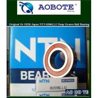 China 6206LLU NTN Deep Groove Ball Bearings With Heavy Load In Plastic Machinery wholesale