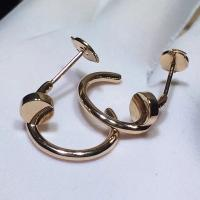China High End Cartier Nail Earrings , Juste Un Clou Earrings 18K Rose Gold wholesale