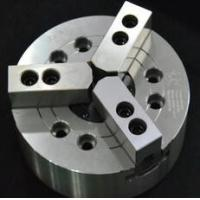 Buy cheap KM 3-Jaw Large Through-Hole Power Chuck Can clamp on bar work supplied from the from wholesalers