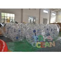 China Water Zorbing Full Body Inflatable Bumper Ball Roller Security 1.0mm TPU wholesale