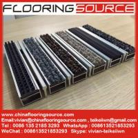 China Aluminum frame heavy duty floor matting carpet infill Hotel Carpet Shopping Mall Entrance Matting wholesale