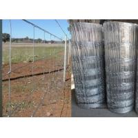 China Cattle Farming Fence / Hot-Dipped Filed Wire Mesh Fence For Poultry wholesale