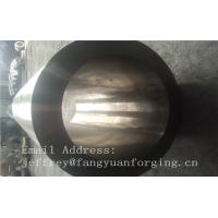 China St52-3 forged steel rings Hot Rolled Sleeve Forged Cylinder 3000mm length wholesale