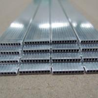 China 1050 1060 1100 H112 Parallel Flow Microchannel Flat Aluminum Tubing wholesale