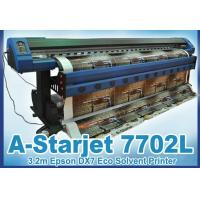China 3.2m Eco Solvent Printer A-Starjet 7702L with 2pc Epson DX7 for PVC Vinyl wholesale