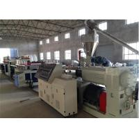 Buy cheap Furniture Wood Door Panel Plastic Board Extrusion Line High Speed from wholesalers