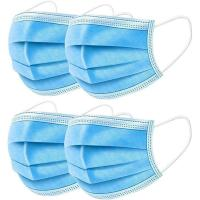 China Breathable 3 Ply Disposable Face Mask For Anti Droplet / Particulate / Bacteria wholesale