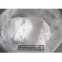 China USP Standard  Local Anesthetic Agents Ropivacaine /Ropivacaine HCL wholesale
