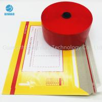 China Red MOPP PET Tobacco Cigarette Tear Tape 30mic - 50mic Thickness wholesale