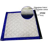 China Green Color Noise Blankets 5 layers + PVC Membrane Layers 40dB noise Insulated Customized Size wholesale