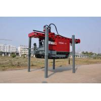 China DTH Drilling Water Well Drilling Rig Mounted on Truck With Maximum hoist capacity 20 tone wholesale