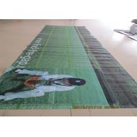 China Advertising Plastic Banner Printing Vinyl Signs With Metal Grommets wholesale