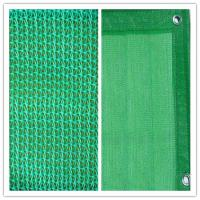 Quality Dark Green Construction Safety Netting For Scaffolding , HDPE Building Net 35gsm for sale