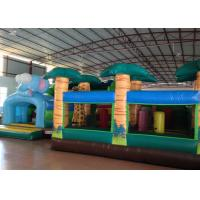 Big Party Custom Made Inflatables 0.55mm Pvc Tarpaulin For Kindergarten Baby